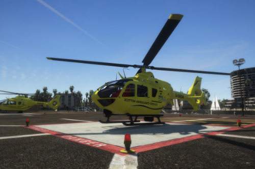 Eurocopter EC135 Air Ambulance Scottish Ambulance Service Skin Pack