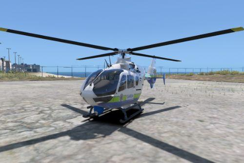 Eurocopter EC135 Garda Air Support Unit (Garda Síochána Air Support Unit) Skin Pack