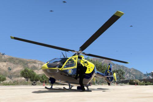Eurocopter EC135 National Police Air Service Skin G-TVHB