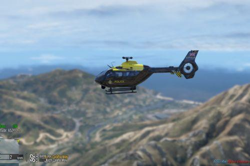 Eurocopter EC135 National Police Air Service Skin Pack