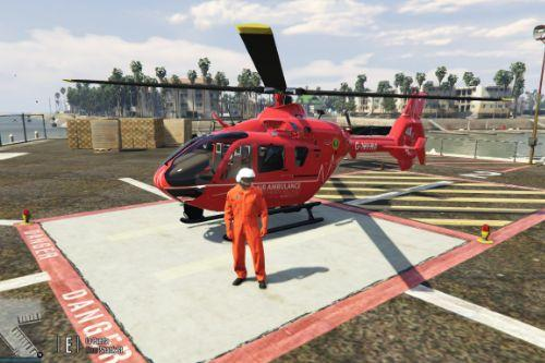 Eurocopter EC135 Northern Ireland Air Ambulance Skin Pack