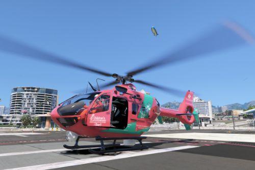 Eurocopter EC135 Welsh Air Ambulance (Ambiwlans Awyr Wales) Skin G-WASC