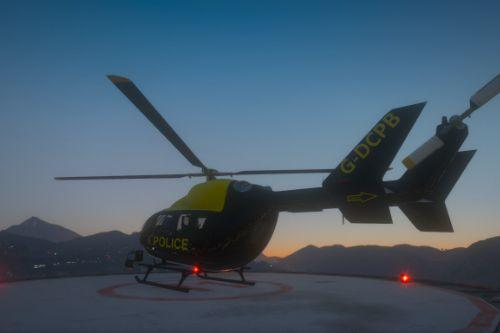 Eurocopter EC145 National Police Air Service Skin G-DCPB
