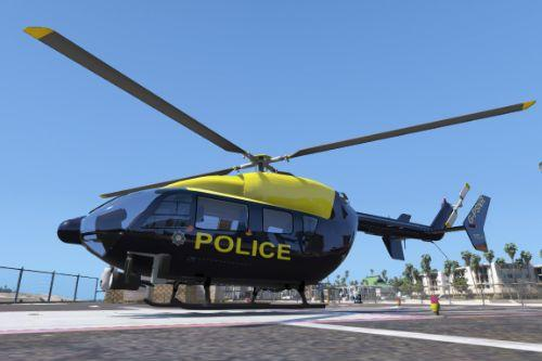 Eurocopter EC145 Police Service Northern Ireland Air Support Unit Skin Pack