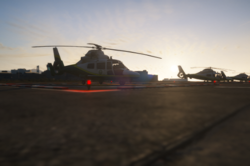 Eurocopter MH65 Dauphin Great North Air Ambulance Skin Pack