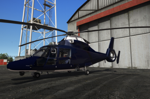 Eurocopter MH65 Dauphin United Kingdom Special Forces Blue Thunder Skin