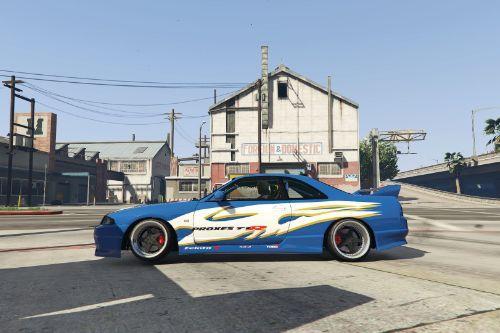 Evolusi KL Drift 1 Paintjob for Nissan Skyline r33