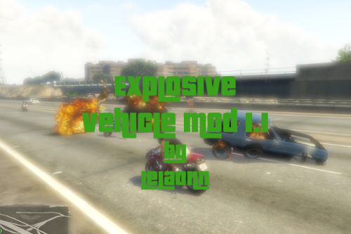 Explosive Vehicle Mod