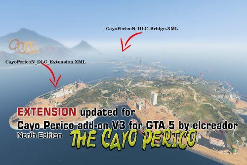 Extension for Cayo Perico Addon V3 NORTH EDITION by Elcreador