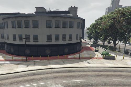 Exterior of Vespucci Police Station [YMAP - FiveM]