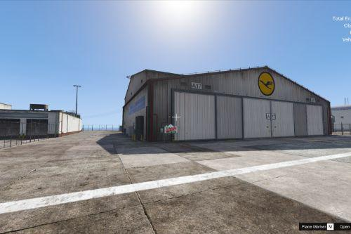Extra Hangar for Los Santos International Airport [Menyoo] [Map Editor] [SPG]