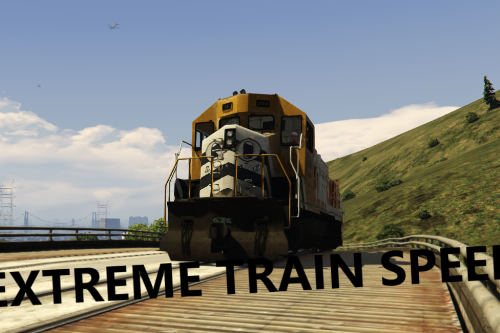 Extreme Train Speed