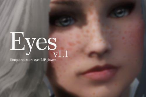 Eyes Retexture Mod