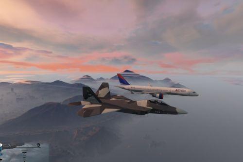 F-22 Camo Digital (Hawx)