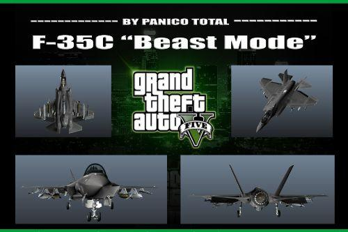 F-35C Navy: Beast Mode [Add On] Custom Weapons-3D Missiles