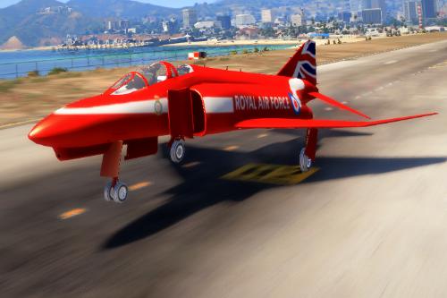 F-4 Phantom II Red Arrow Jet [Livery]