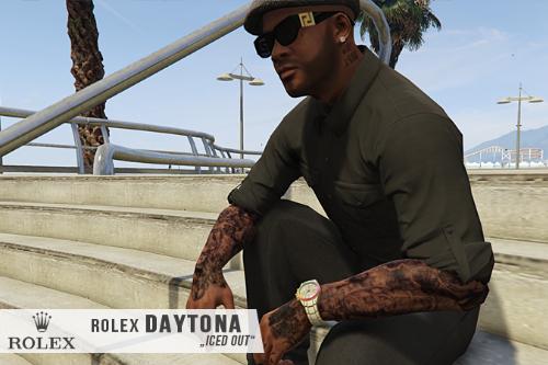 [F] ROLEX Daytona 𝒊𝒄𝒆𝒅 𝒐𝒖𝒕
