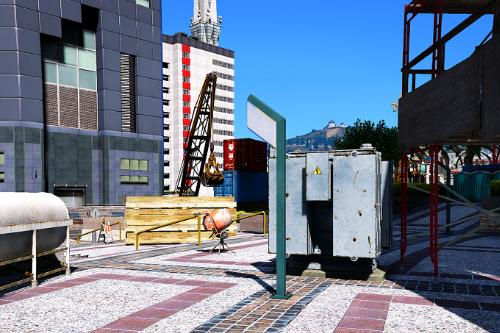F.I.B. Tower in construction [SP / FiveM] [MapEditor]