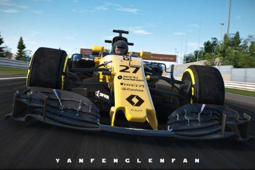 F1 Renault RS17 2017 [Add-On / Replace]