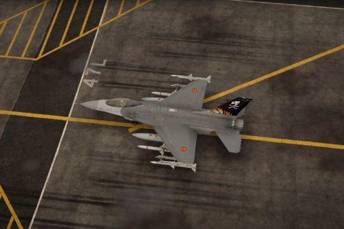 FA-94 2017 31st ThunderTigers  F-16C Tiger Livery