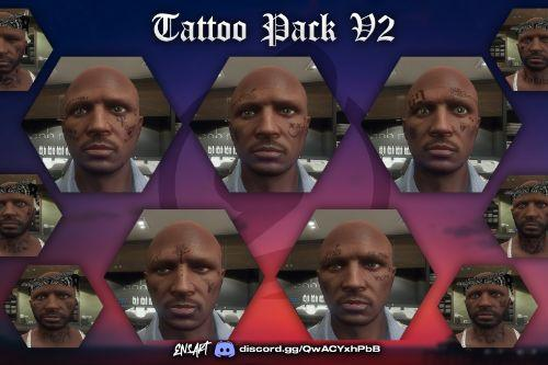 Face Tattoo Pack V2 for MP Male/Female