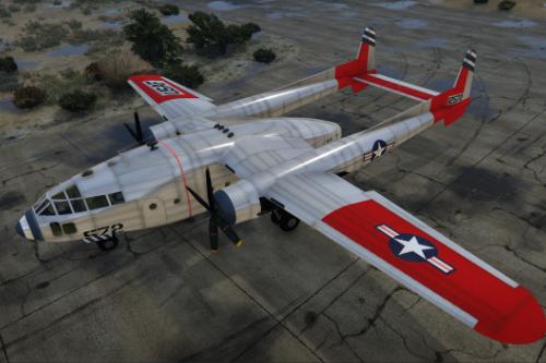 Fairchild C-119 Flying Boxcar [Add-On | OIV]