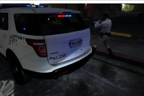 Fake Police car