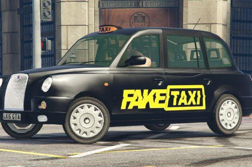 Fake Taxi Livery London Taxi TX4