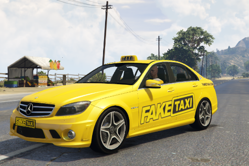 Fake Taxi Mercedes C63 AMG