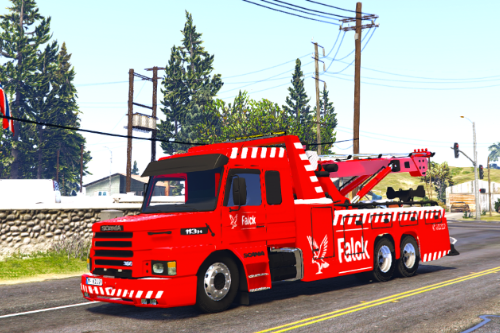 Falck Scania 113H Towtruck