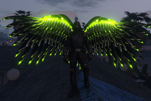 Emissive Wings Pack  [Add-On]