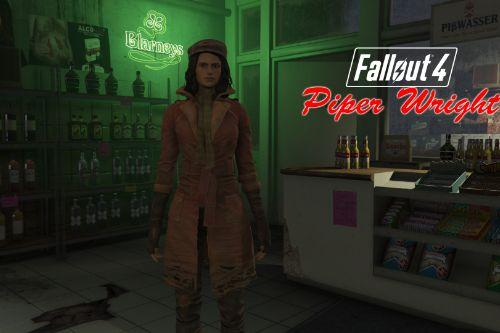 Fallout 4 - Piper Wright [Add-On Ped / Replace] (Face Rigged)