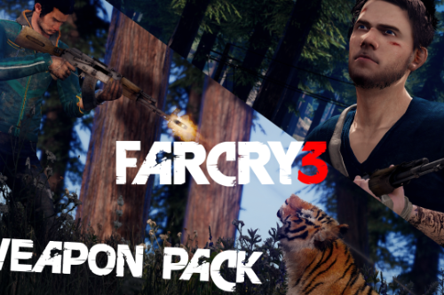 Far Cry 3 Weapons Pack