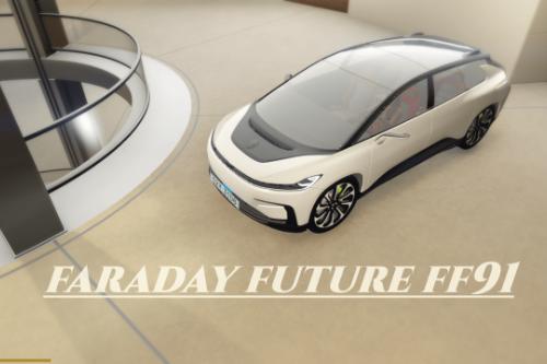 Faraday Future FF91 [Add-On | Unlocked]
