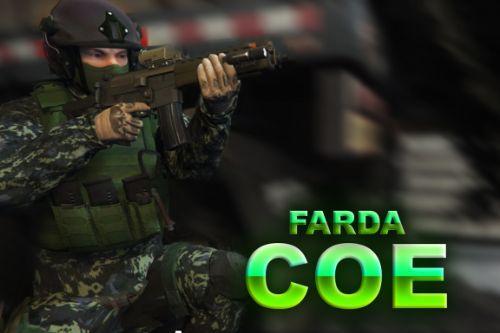 Farda COE PMESP (Comandos e Operações Especiais do Estado de São Paulo) (.OIV)