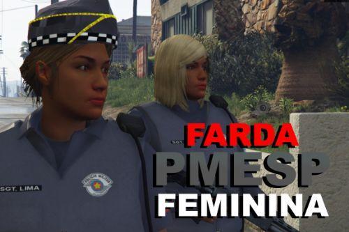 Farda PMESP Feminina - Radio Patrulha (.OIV)