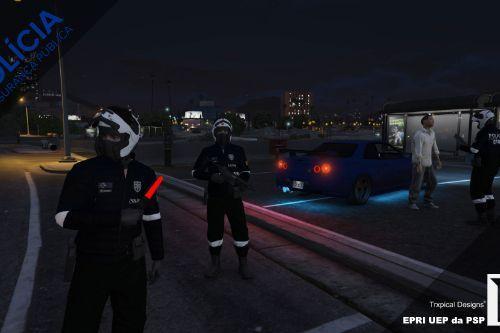 Farda UEP da EPRI da Policia de Segurança Publica