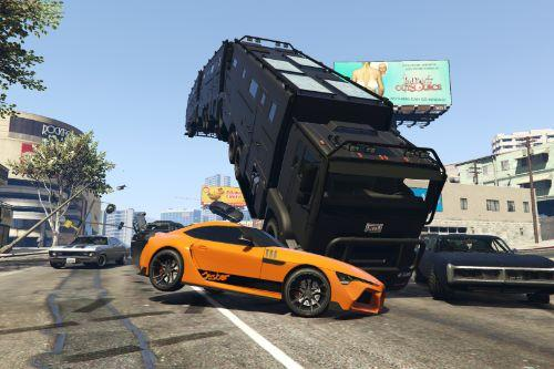 Fast and Furious 9 - Lore Friendly Vehicles Pack [Menyoo]