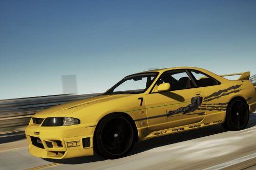 Fast and Furious Leon's Nissan Skyline GT-R R33 livery