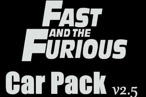 [Fast & Furious] N-Speak Car Pack [Add-On OIV]
