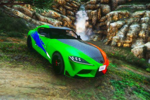 Fast & Furious Josh Toyota Supra Paint Job (8K)