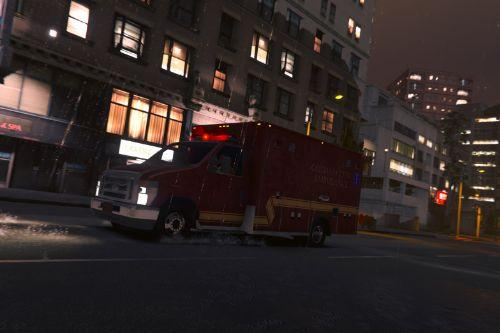 FDGC/GCFD Gotham City Ambulance