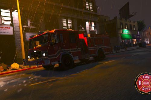 FDGC/GCFD Gotham City Fire truck