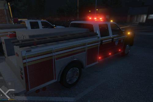 FDNY Ambulance and Brush Fire Truck