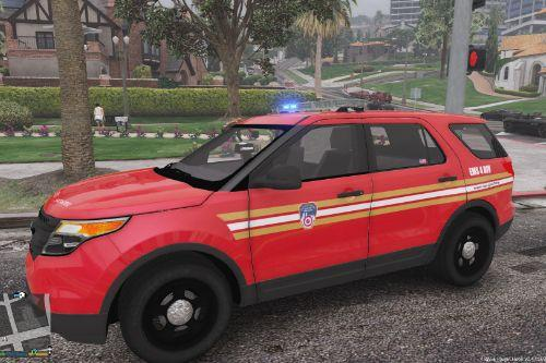 FDNY EMS 4 Divison Ford Police Interceptor Utility