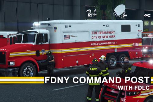FDNY / FDLC MTL Pounder Mobile Command
