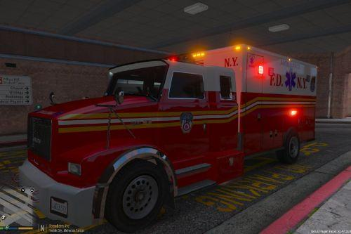 FDNY TerraStar International Ambulance