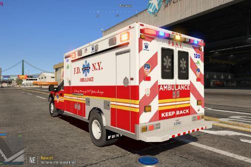FDNY / LSFD Ambulance [ELS] [Non ELS] [Fivem/Replace]