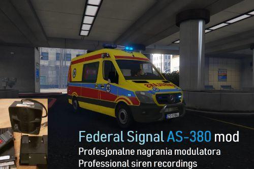Federal Signal Vama AS-380