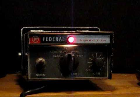 Federal Signal PA-15A Siren (Police Version)